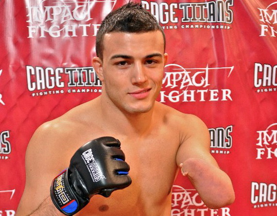 Former XFC champion Nick Newell