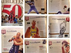 Royce GRacie on SI 50 Top Athletes of All time