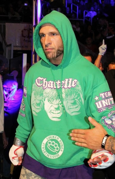 """Friday night will be Todd Chattelle's 10th fight with CES MMA when he faces Shedrick Goodright in the main event of """"CES MMA XXI"""" at Twin River Casino in Lincoln, R.I. (CES photo by Kelly MacDonald)"""