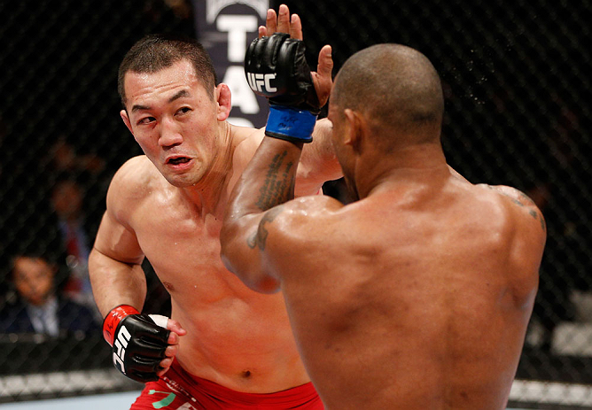 Former UFC middleweight Yushin Okami