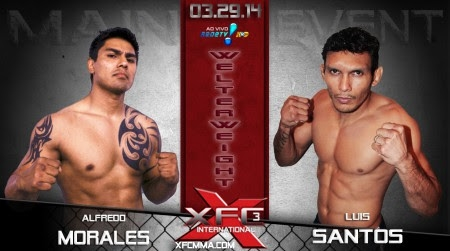 XFCi3 Morales vs Santos