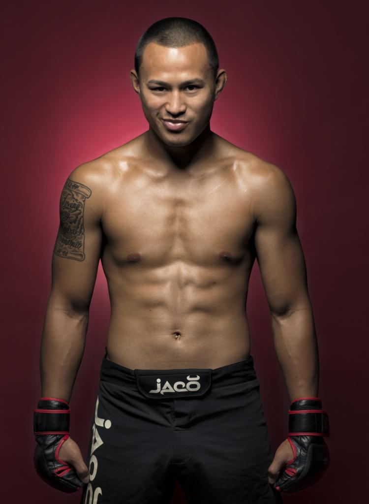 "Bantamweight Andre Soukhamthath of Woonsocket, R.I., will look to avenge his loss from January when he returns to the cage Friday, April 25th, 2014 at Twin River Casino on the undercard of ""CES MMA XXIII."" (CES photo by Ian Travis Barnard)"