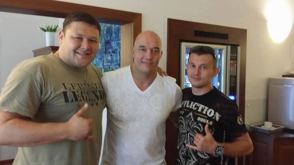 L-R: Jan, Marko and Robin