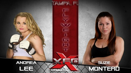 XFC 28 - Lee vs. Montero