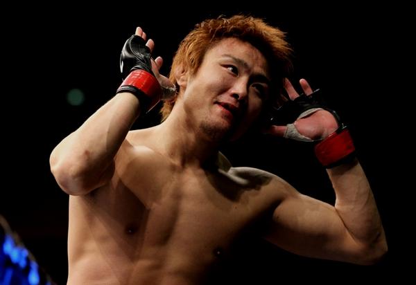 Pride FC champion Takanori Gomi