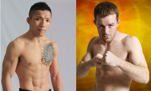 Two bantamweights, Seiji Akano (left) and Chase Beebe (right), confirmed to collide on July 27th in Nagoya, Japan
