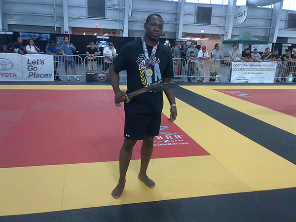 Cedric Smith wins ADCC sword