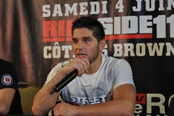 UFC welterweight Patrick Cote