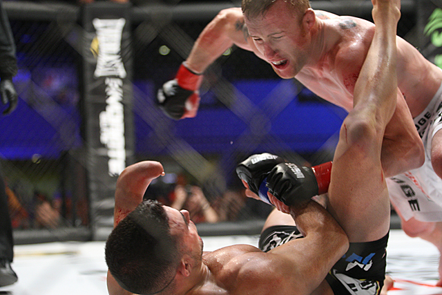 Justin Gaethje closes in on Nick Newell