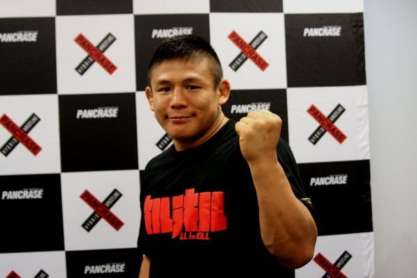 Satoru Kitaoka at the press conference