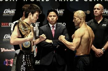 Aoki vs Shalorus weighin
