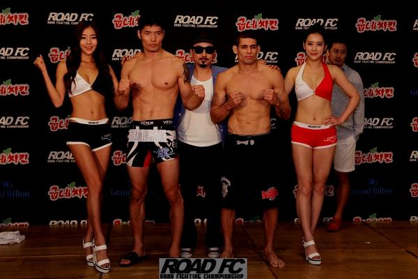 Hoon Kim vs Luis Ramos weighin