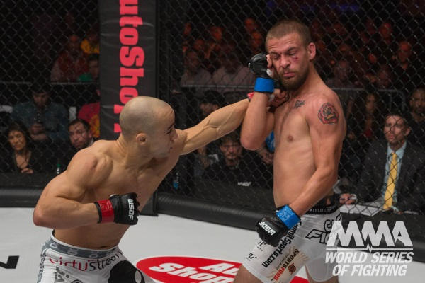 Moraes Submits Bollinger