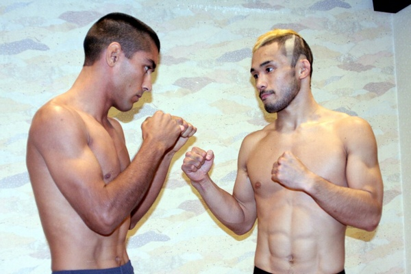 "Both Czar Sklavos (left) and Hiromasa Ogikubo (right) feels this is the ""most important fight in the career."""