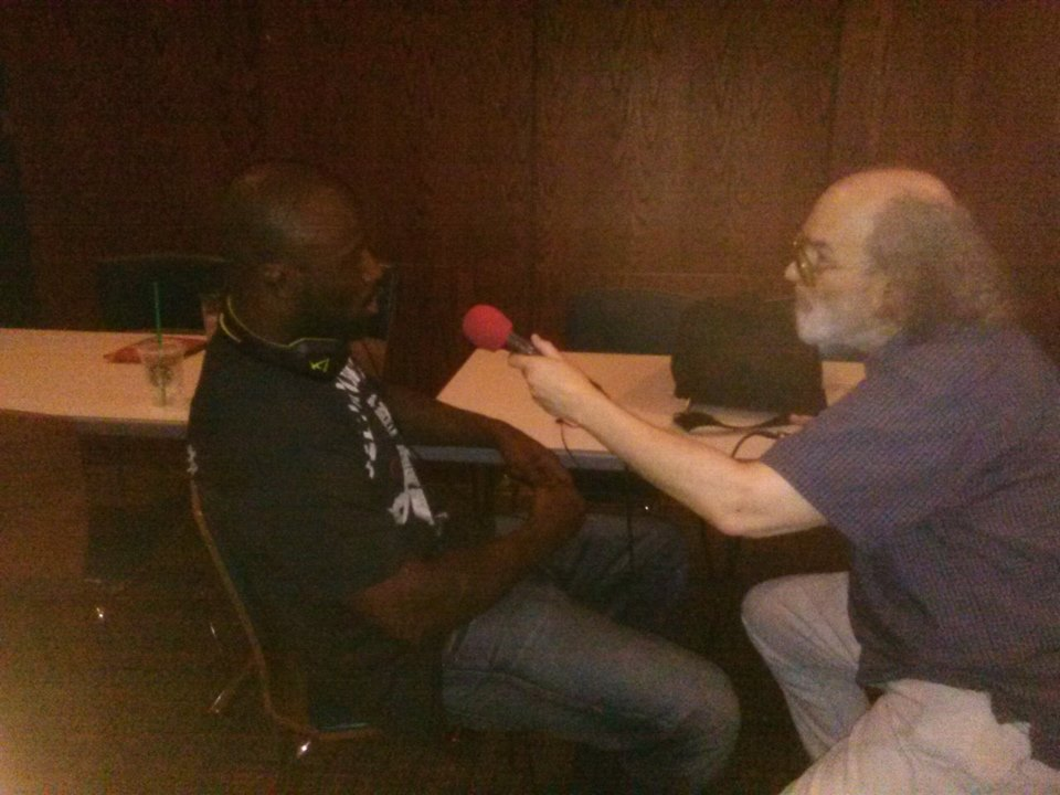 King Mo with Eddie Goldman