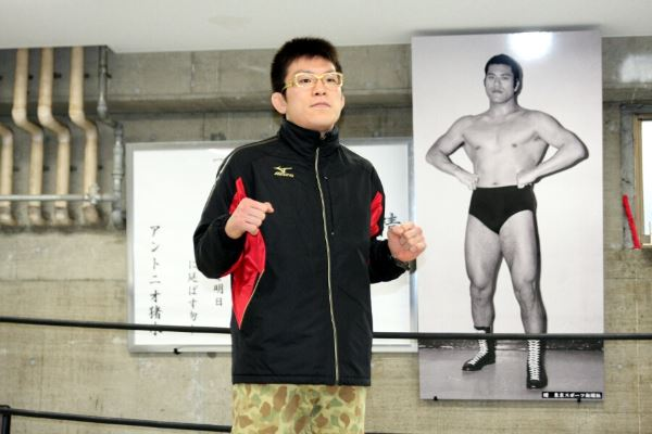 Shinya Aoki at the press conference held in Tokyo on Wednesday