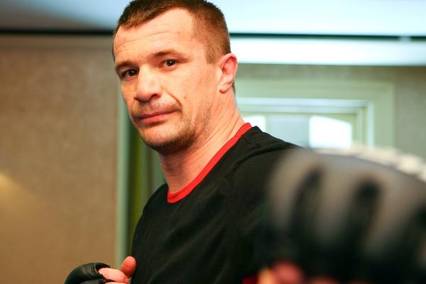 "Former Pride FC star Mirko ""Cro Cop"" Filipovic"