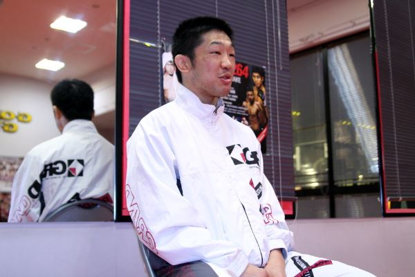 Koji Oishi at the press conference held on 23rd of this month in Tokyo