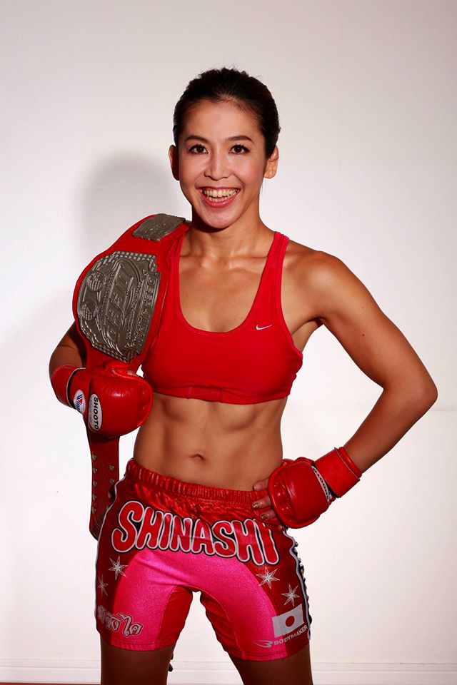 Satoko Shinashi is a 37-year old star of women's MMA in Japan. She may generate more ticket sales than anyone else in DEEP 71