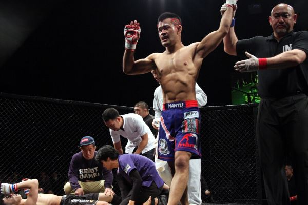 UFC veteran Motonobu Tezuka scored another win in Grachan 16