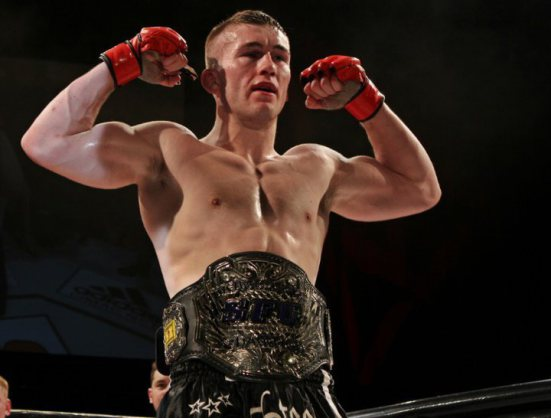 Cage Warriors champion Steven Ray