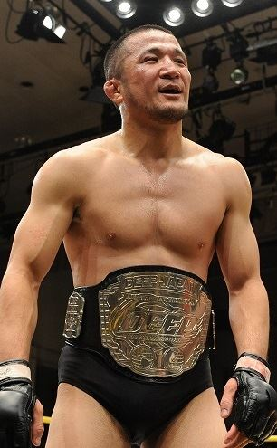 Daisuke Nakamura, at age 34, is still looking to get this DEEP lightweight belt back for one last time