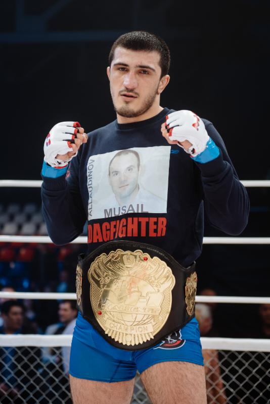 Emeev is M-1 Challenge 56 middleweight champion again