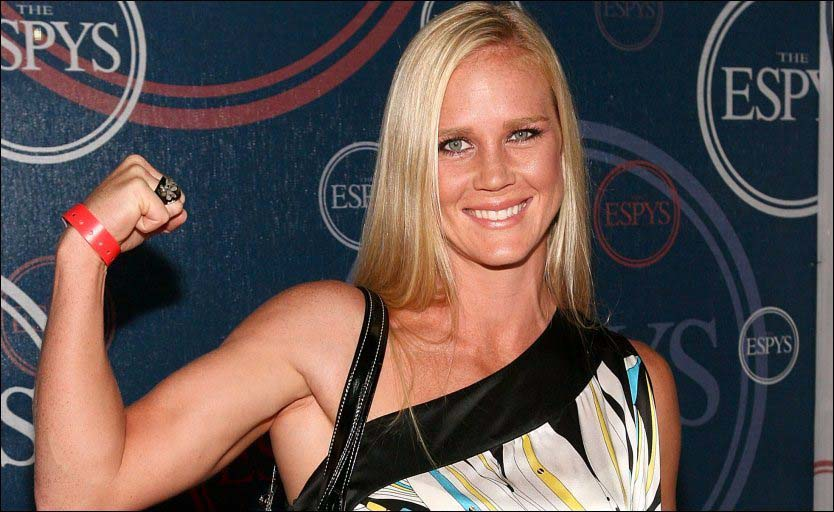 Boxing champion Holly Holm