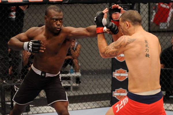 UFC middleweight Uriah Hall