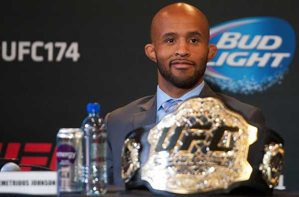 UFC champion Demetrious Johnson