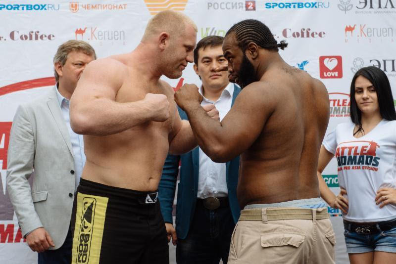 (L-R) Sergei Kharitonov & Kenny Garner