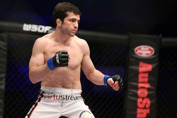 WSOF bantamweight Timur Valiev
