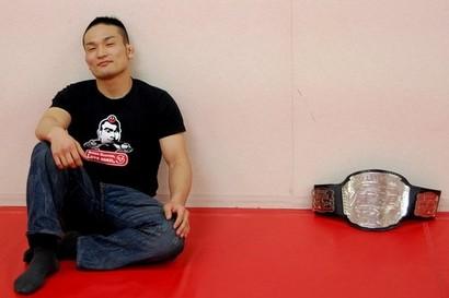 Former Deep champion Katsunori Kikuno