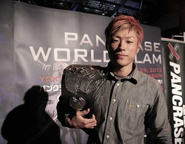 Pancrase featherweight Isao Kobayashi