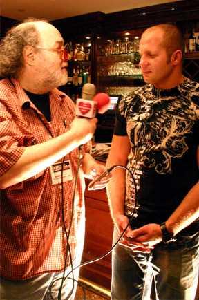 Eddie Goldman and Fedor 05/22/08
