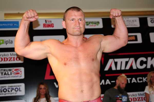 Former M-1 champion Damian Grabowski