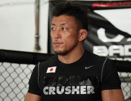 UFC featherweight Tatsuya Kawajiri