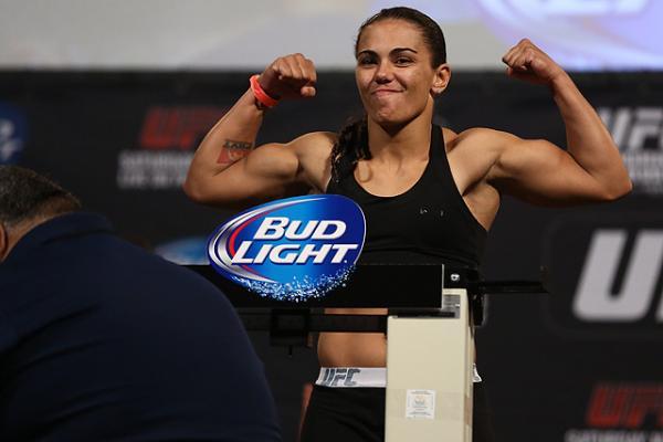 UFC strawweight Jessica Andrade