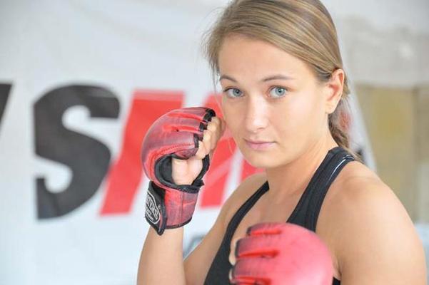 UFC strawweight Karolina Kowalkiewicz