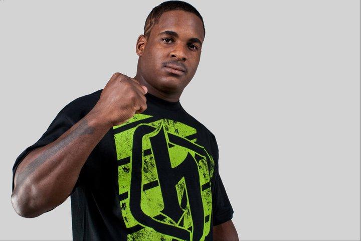 UFC welterweight Lorenz Larkin