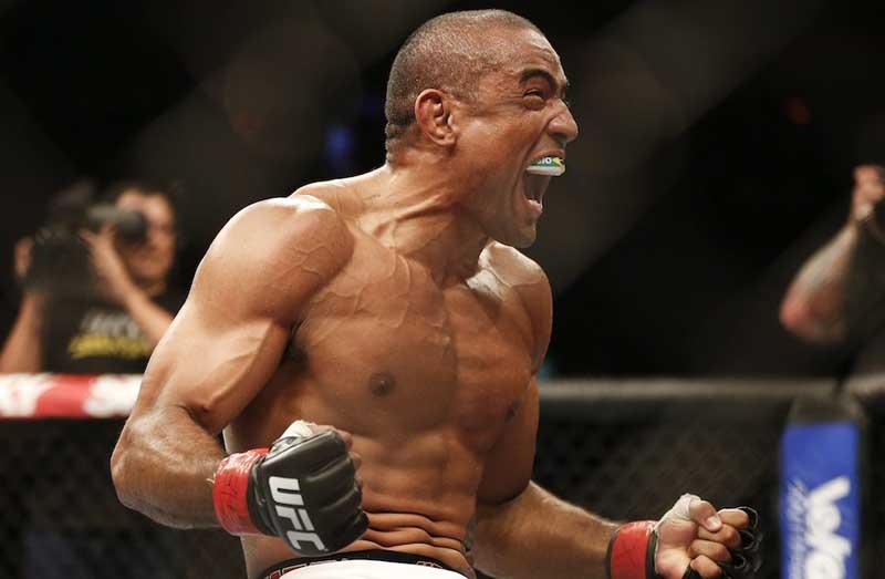 UFC welterweight Sergio Moraes