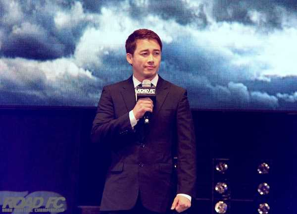 ROAD FC CEO Jung Moon-Hong