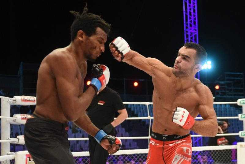 Ivan Buchinger (R) vs. Mansour Barnaoui
