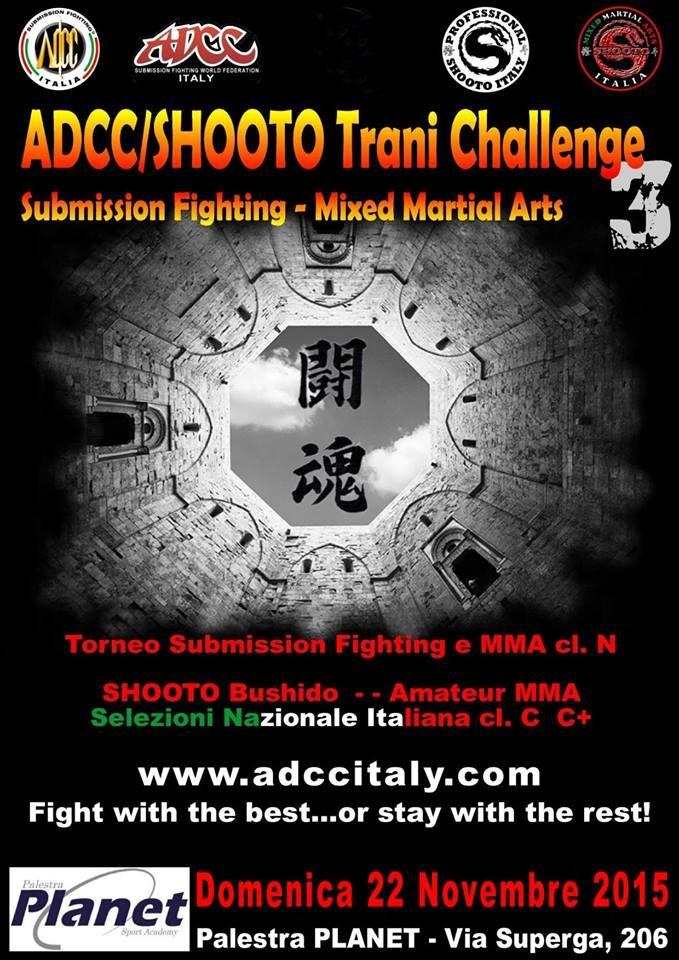 ADCC 3° Italy Trani Challenge 2015 November