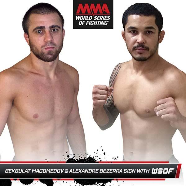 Bekbulat Magomedov and Alexandre Bezerra