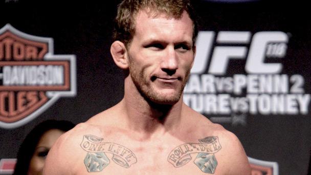 UFC featherweight Gray Maynard