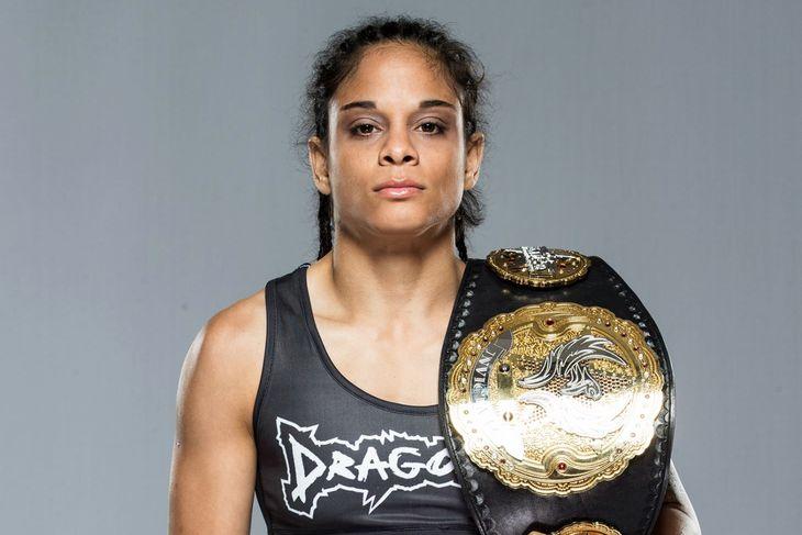 Invicta FC strawweight champion Livia Renata Souza