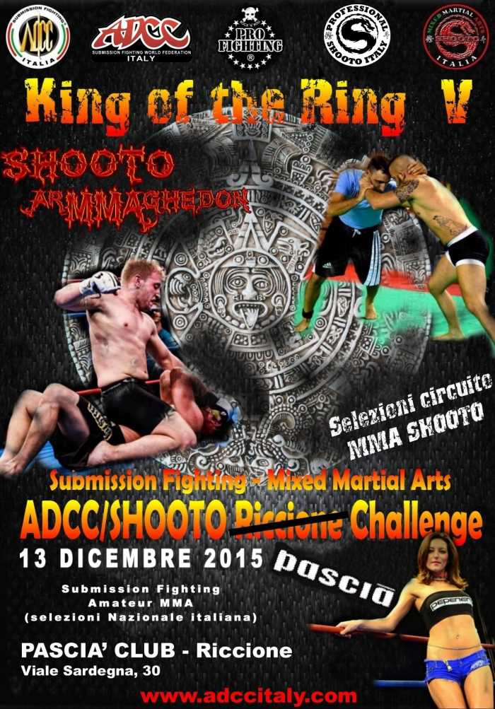ADCC Italy 2nd Pascia Challenge 2015 December