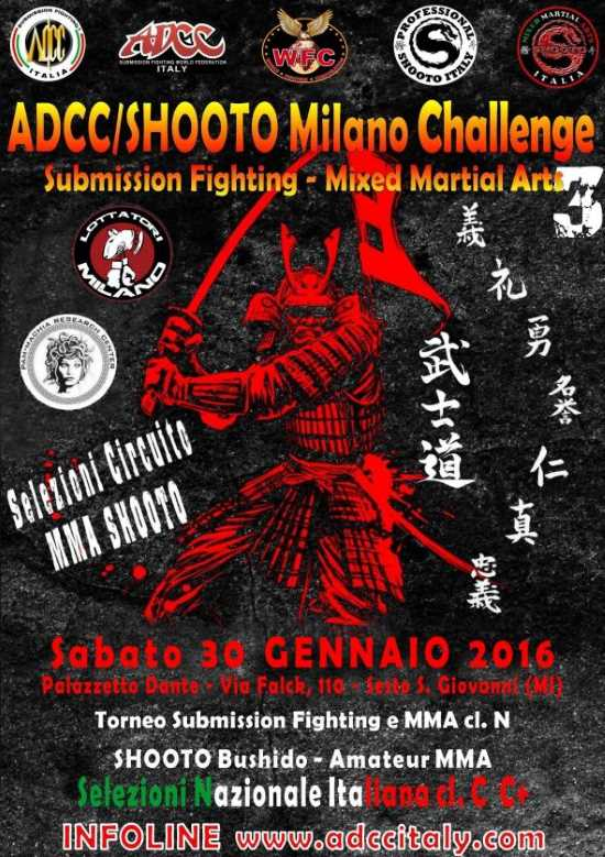 ADCC Italy 3rd Milano Challenge 2016
