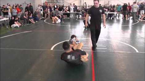 Eddie Cummins (Renzo Gracie) vs Josh Hayden Nogi BJJ Leg Lock Battle YouTube Thumbnail